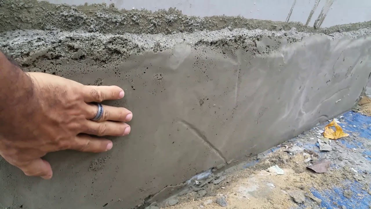 Aircrete wall experiment