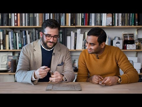 Talking Watches With Aziz Ansari