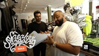 Repeat youtube video DJ Khaled goes Sneaker Shopping With Complex