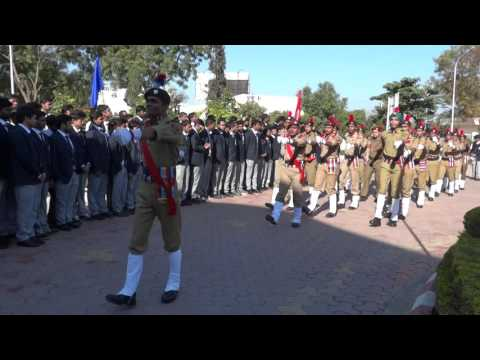 Republic Day Parade 2015 by NCC Cadets OIST Bhopal