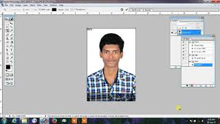 How to Create passport size photo Action in PhotoShop 7 0