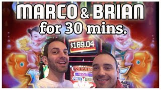 👶🐟 Fu Dao Le ➡ 30 Minutes with Marco 👬 at ARIA! ✦ Slot Machine Pokies w Brian Christopher