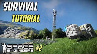 Space Engineers Xbox One and PC Beginners Guide #2 Beginning production.