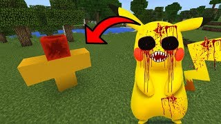 How To Spawn PIKACHU.EXE in Minecraft PE