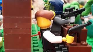 Лего мультик 2 Мировая война конец