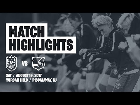 Highlights: Seattle Reign FC at Sky Blue FC // August 19, 2017