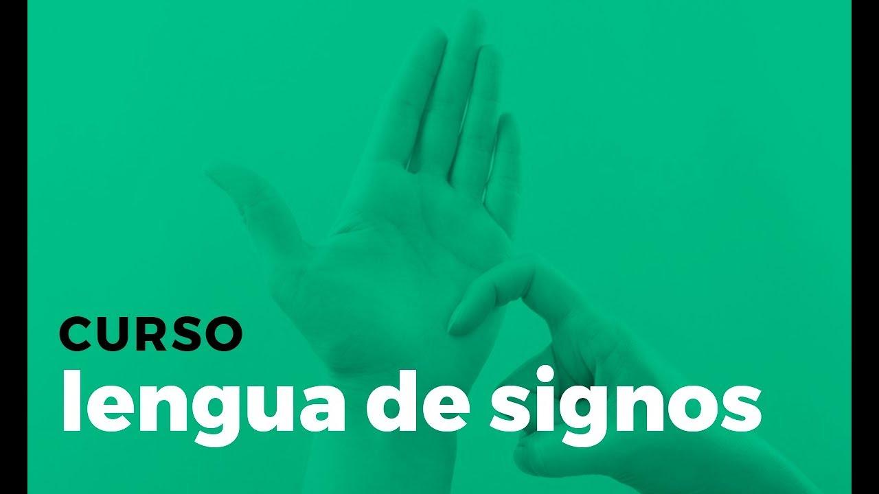 Curso Lengua De Signos Nivel Basico Youtube