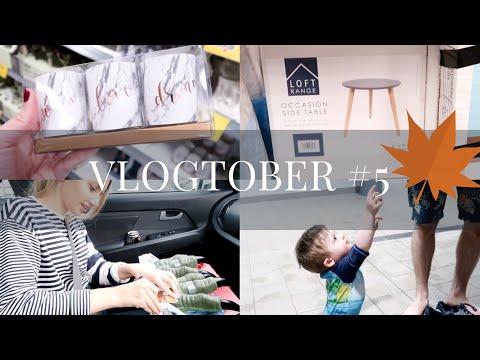 COME SHOPPING WITH ME! HOME BARGAINS & HOMESENSE   SammyBird   Vlogtober