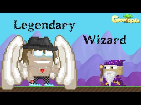 growtopia making legendary wizard youtube