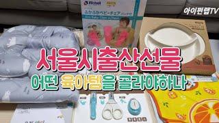 서울시 출산축하선물 신청방법과 아이서울유에서 고른 육아…