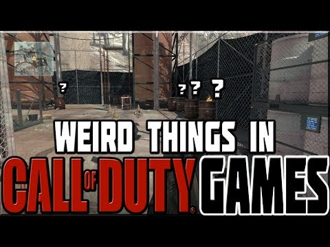 WEIRD THINGS IN CALL OF DUTY GAMES!