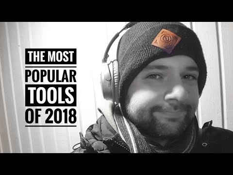 The most popular tools of 2018