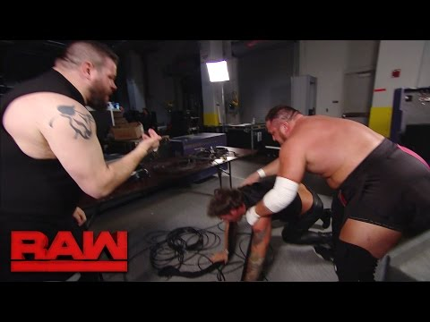Kevin Owens and Samoa Joe take out Chris Jericho: Raw, April 3, 2017
