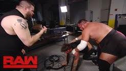 Kevin Owens and Samoa Joe take out Chris Jericho: Raw, April 3, 2017