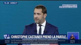 Suivez le discours de Christophe Castaner, nouveau délégué général de la République en marche