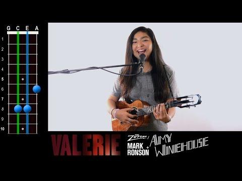 """""""Valerie"""" (Amy Winehouse) Ukulele Play-Along!"""