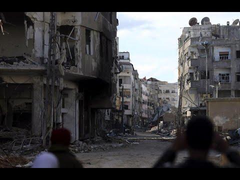 أخبار عربية | 156 شخصا حصيلة خروقات نظام الأسد لوقف التصعيد في غوطة #دمشق