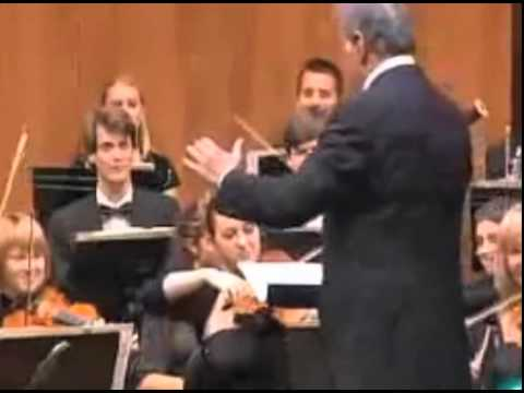"Zubin Mehta Does Variations on ""Happy Birthday"""