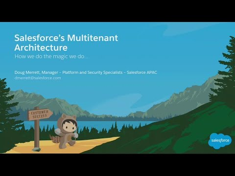 Salesforce Multi Tenant Architecture: How We Do the Magic We Do