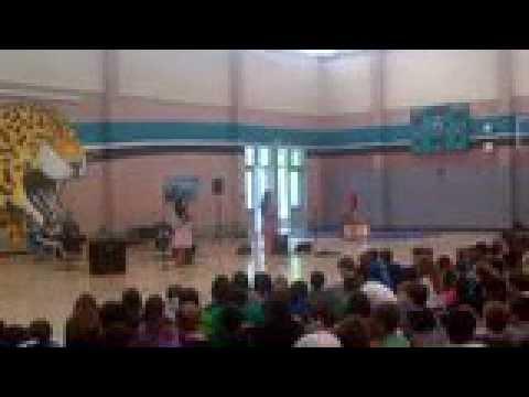 Nicole Chauvin Talent Show - Iron Horse Middle School April 5, 2013
