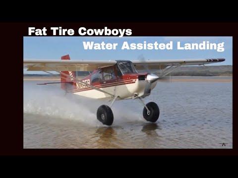 American Champion Super Cub Carbon Cub Water Assisted Landing Bush Flying