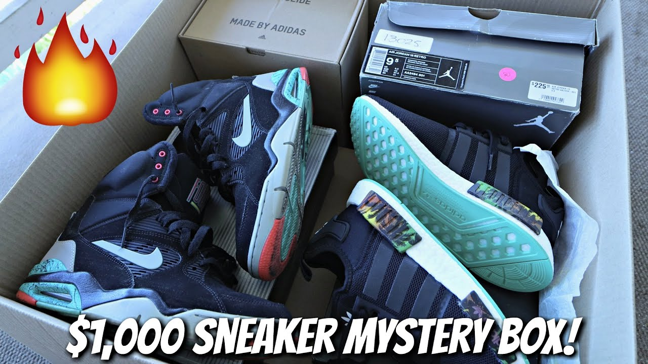 "Unboxing A $1,000 Mystery Box FULL of ""Beater"" Sneakers!"