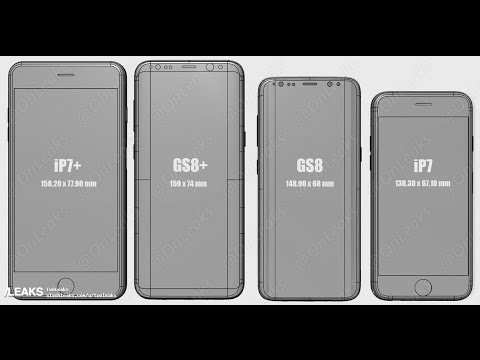 Size Comparison Galaxy S8 Plus IPhone 7 And More Video