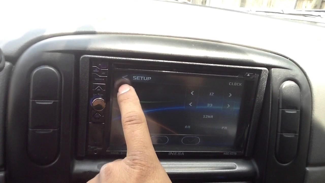 2004 Ford Explorer Nesa Nsd 627b Bluetooth Touchscreen