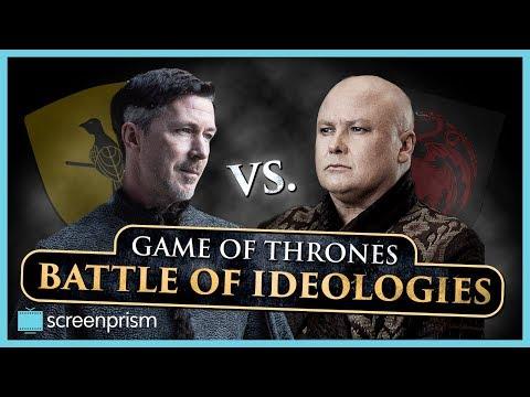 Game of Thrones: Littlefinger v Varys - Battle of Ideologies