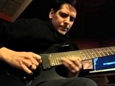 8 string guitar  Bass Loop EAeadgbe Tuning