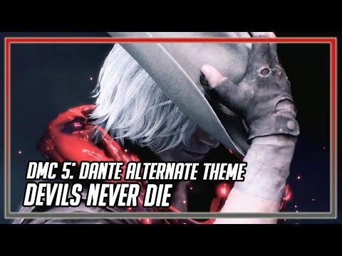 Devil May Cry 5 - Dante Alternate Battle Theme: Devils Never Die (fanmade) thumbnail