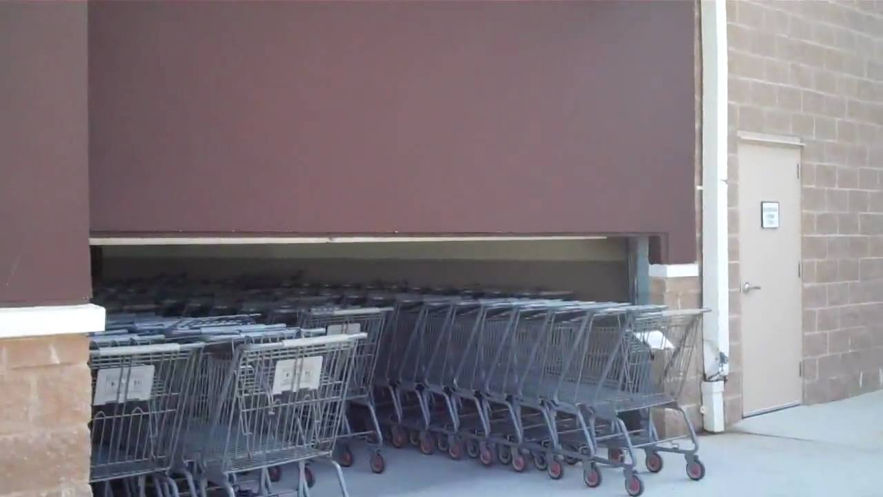 Leominster SUCCESSFUL Walmart Shopping Cart Door Entry & Leominster: SUCCESSFUL Walmart Shopping Cart Door Entry - YouTube