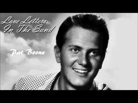 Pat Boone   Love Letters In The Sand HD, HQ + Lyrics