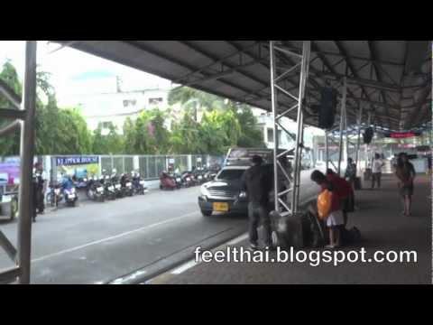 สถานีขนส่งเมืองพัทยา Pattaya bus terminal