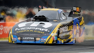 Matt Hagan runs the fifth-quickest time in NHRA history