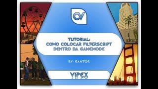SAMP   Como colocar FilterScript dentro da Gamemode