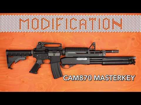 MODIFICATION - APS CAM870 MASTERKEY | AIRSOFT