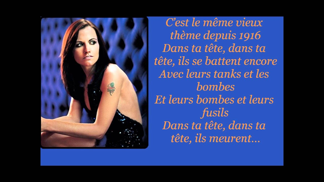 the cranberries zombie traduction fran aise youtube. Black Bedroom Furniture Sets. Home Design Ideas
