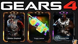 Gears of War 4 Gear Packs - 25 ELITE PACKS! (Gears of War 4 Gear Packs Opening)