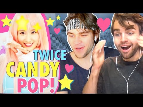 TWICE - Candy Pop REACTION!! [한글자막 Sana's wig snatched OUR wigs!]