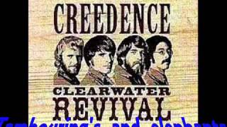 Creedence Clearwater Revival-Looking out my back door- w/lyrics