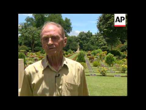 THAILAND: WW2 VETERANS RE VISIT BRIDGE ON THE RIVER KWAI