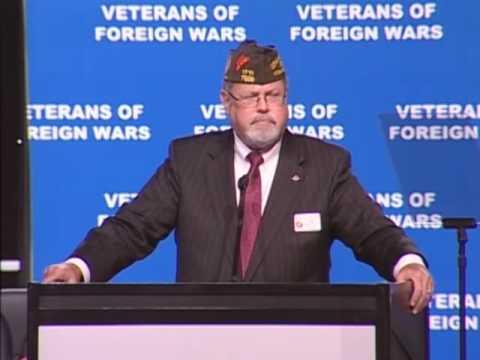 VFW Elects New Commander-in-Chief, John Hamilton