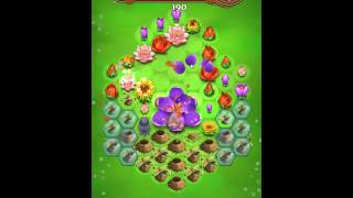 Blossom Blast Saga Level 117