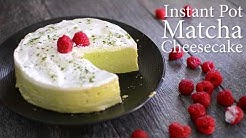Keto Instant Pot Matcha Cheesecake Recipe