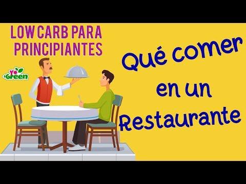 🍽️  Cómo comer Low Carb en un restaurante | TipsYoMasGreen | Yo +Green
