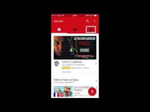 Supprimer une vidéo Youtube sur Smartphone et Tablette