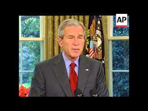 WRAP Bush replaces Federal Reserve chairman