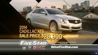 Drive Something Extraordinary! - Five Star Cadillac Buick GMC