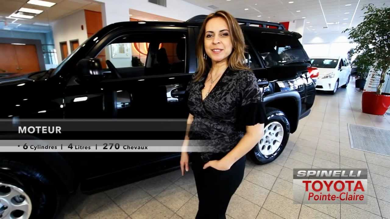 Toyota Pointe Claire >> Toyota 4runner 2012 Spinelli Toyota Pointe Claire Youtube